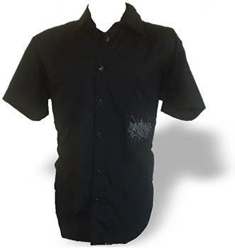 camisa casual bordada