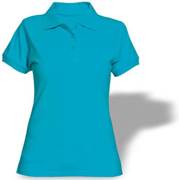 playera dama tipo polo